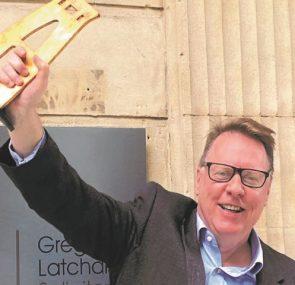 Gregg Latchams Triumphs at Bristol Life Awards
