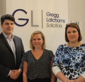 Gregg Latchams Welcomes Three New Starters